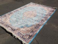 IRANIAN CARPET SILKY COLLECTION (D-015/1069 BLUE)