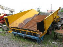 Приемный бункер Climax CSB 700
