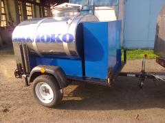 """Repair and manufacture of tank truck from the producer of """"the Tubor-PLU"""