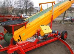 Telescopic conveyor MIEDEMA — 10.5 m, self-propelled