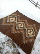 The rug...the blanket...blanket