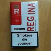 Wholesale cigarettes REGINА red,blue - 220$